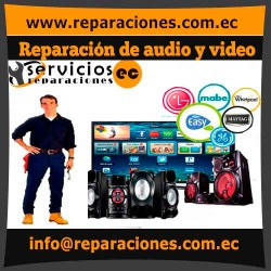 Reparación de audio y video reparacionesec